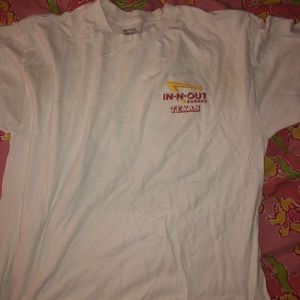 Other - In-and-Out Short sleeve white tshirt